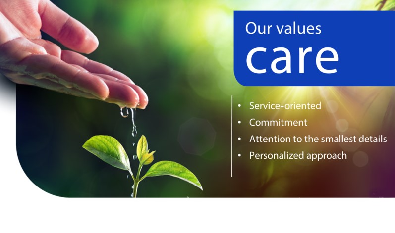 our values-care
