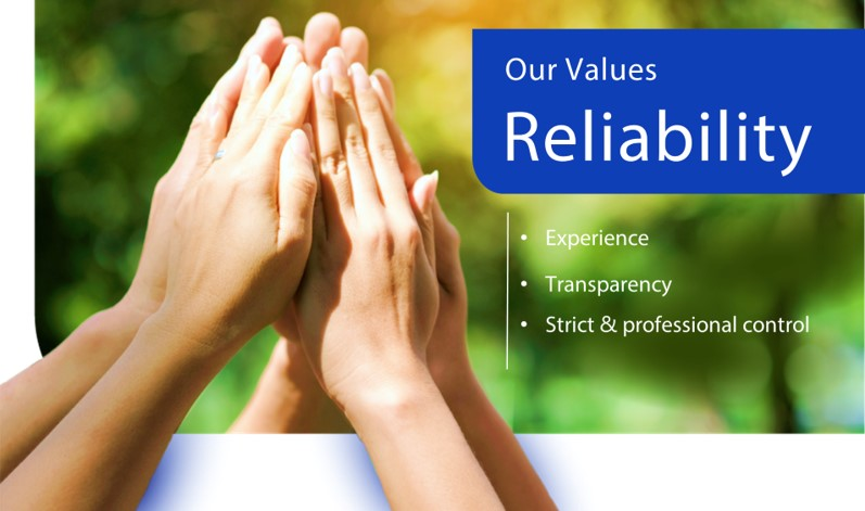 our values-reliability